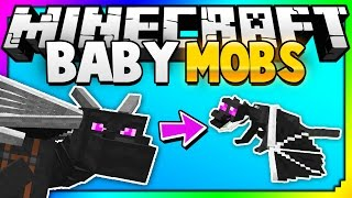 getlinkyoutube.com-Minecraft: The Baby Mobs You've Never Seen Before