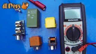 getlinkyoutube.com-DIY: How to Test a Relay
