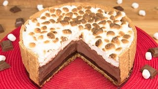 getlinkyoutube.com-S'mores Ice Cream Cake from Cookies Cupcakes and Cardio