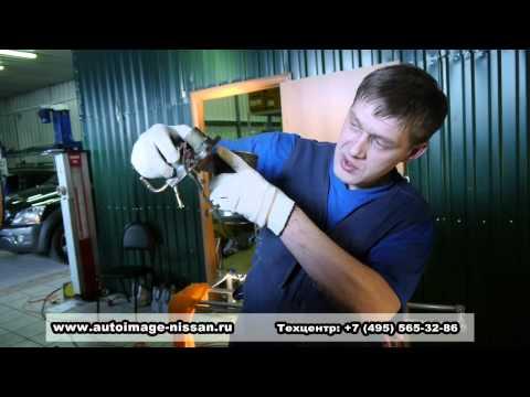 Замена топливного фильтра Мицубиси Паджеро
