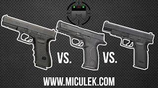 getlinkyoutube.com-Glock vs M&P vs XD comparison with world champion shooter, Jerry Miculek
