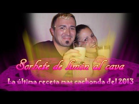Sorbete de limón al cava. LA ULTIMA RECETA MAS CACHONDA DEL 2013