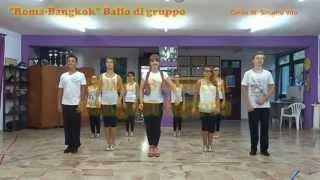 getlinkyoutube.com-ROMA BANGKOK - Baby K - Giusy Ferreri BALLO DI GRUPPO