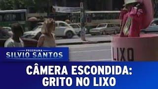 Câmera Escondida (11/09/16) -  Grito no Lixo