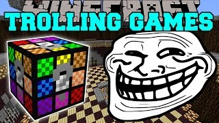 getlinkyoutube.com-Minecraft: HORRIBLE TROLLING GAMES - Lucky Block Mod - Modded Mini-Game