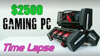getlinkyoutube.com-$2500 Ultimate Gaming PC | Time Lapse Build