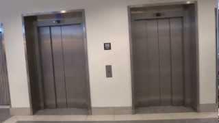 getlinkyoutube.com-Crappy Schindler EuroLift MRL Traction elevator @ Gallerian NIAN, Gävle, Sweden.