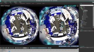 IDIS Super Fisheye Camera Sample Footage