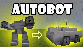 TRANSFORMER TUTORIAL | MInecraft PE Creation