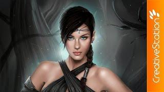 getlinkyoutube.com-The keeper - Speed Painting (#Photoshop) | CreativeStation