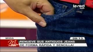 getlinkyoutube.com-Fred Redondo enseña a renovar antiguos jeans en forma rápida y sencilla (Parte 2)