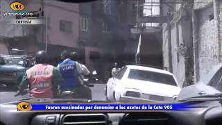 getlinkyoutube.com-Azotes de la Cota 905 asesinan a madre e hija por venganza