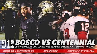 getlinkyoutube.com-BOSCO VS CENTENNIAL: Instant Classic 49-47 St John Bosco Wins vs Corona Centennial