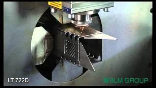 getlinkyoutube.com-LT722D rect. tube high speed cutting