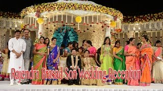 getlinkyoutube.com-Celebrities @ Rajendra Prasad Son Wedding Reception
