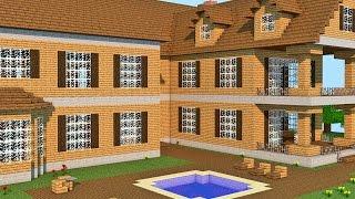 getlinkyoutube.com-Minecraft: A Fazenda - Casa de 4 Andares