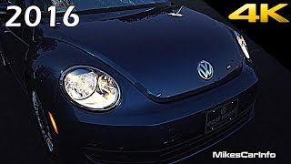 getlinkyoutube.com-2016 Volkswagen Beetle AT NIGHT Interior and Exterior in 4K
