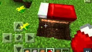 getlinkyoutube.com-Minecraft pe 0.9.0 bed trap any version works!