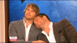 getlinkyoutube.com-The Talk: Michael Weatherly (NCIS) és Eric Christian Olsen (NCIS:LA) (magyar felirattal)