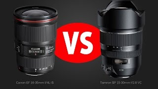 getlinkyoutube.com-Lens Comparison: Tamron 15-30 f/2.8 VC vs Canon 16-35 f/4L IS