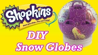 getlinkyoutube.com-DIY Custom Shopkins Glitter Snow Globe Perfect Gifts or Party Favors