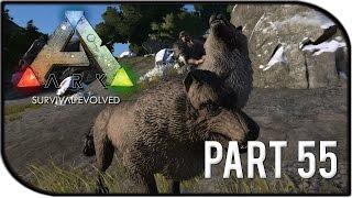 """ARK: Survival Evolved Gameplay Part 55 - """"STARTING THE WOLFPACK!"""" (Season 2)"""