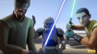 getlinkyoutube.com-Star Wars Rebels: Rex, Kanan & Ezra Vs Battle droid Army