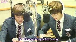 getlinkyoutube.com-[THAISUB] 131107 ซูโฮโทรหาเซฮุน Speed Quiz @ Sukira