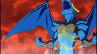 getlinkyoutube.com-AMV BLUE DRAGON-Shu vs Michael (Dragon Soul)