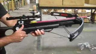 getlinkyoutube.com-MK250 Hunting Crossbow Power Shot By Newxbows