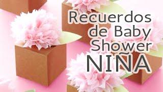 40 Ideas Recuerdos para Baby Shower *Niña* HD