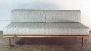 getlinkyoutube.com-DIY Mid-Century Modern Sofa | Modern Builds | EP. 28