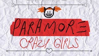 getlinkyoutube.com-Paramore - (One Of Those) Crazy Girls (Lyric Video)