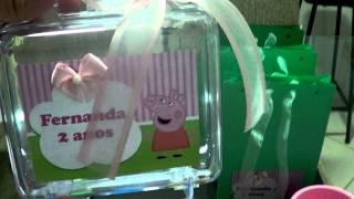 getlinkyoutube.com-Festa Peppa Pig Fernanda 2 anos- Preparativos