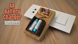 How to Make a Battery Charger from Scrap - Homemade