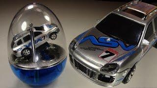 getlinkyoutube.com-Opening: Egg Shell Mini Racer! Tiny RC car, with test drive!