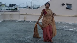SIVAGAMI saree tie in bāhubalí   Tutorial with one/two sarees