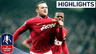 getlinkyoutube.com-Manchester City 2-3 Manchester United - Official Highlights | FA Cup 3rd Round Proper 08-01-12
