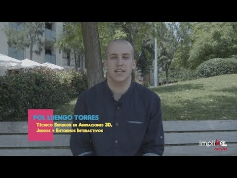 Opinión de Pol Luengo, del FP Oficial de Diseño de Videojuegos
