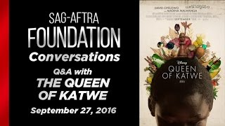 getlinkyoutube.com-Conversations with Lupita Nyong'o and David Oyelowo of QUEEN OF KATWE
