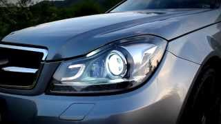 getlinkyoutube.com-Mercedes-Benz C250 CDI W204 Facelift Walkaround