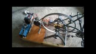 getlinkyoutube.com-Bicycle Generator: (BEST DESIGN) Stay In Shape & Power Electronics