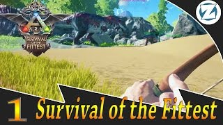 getlinkyoutube.com-Ark Survival Of The Fittest Gameplay  w/ Draax and Sl1pg8r - Ep1 - Ludicrous Speed
