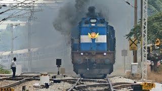 getlinkyoutube.com-The ANGRY Train - Vivek Express ERUPTS : Indian Railways