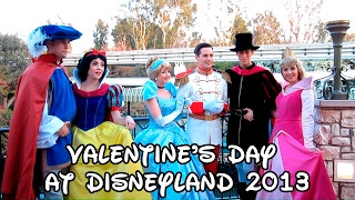 getlinkyoutube.com-Valentine's Day at Disneyland 2013