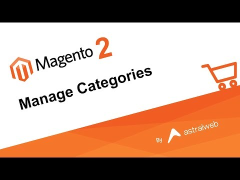Magento 2 - Manage Categories