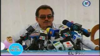 Conferencia de Prensa Joan Sebastian sobre el asesinato de Juan Sebastian Figueroa
