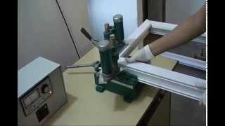 getlinkyoutube.com-Upvc Portable Window Manufacturing Machine