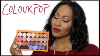 "getlinkyoutube.com-""NEW"" Colourpop Pressed Eyeshadow Collection With Swatches & Demo"