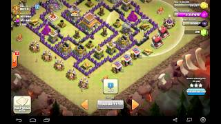 getlinkyoutube.com-Clash of clans Noob-top MIX TH8( Атака топ миксом на тх8) №3